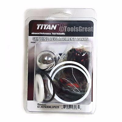 Titan Spraytech Pump Packing Repair Kit 0555222 Gpx220 Repacking Kit 0555222