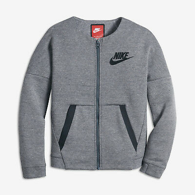 Nike Kids Fleece (Nike Sportswear Tech Fleece Big Kids' Girls' Jacket 806214 Medium $90)