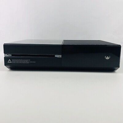 Microsoft Xbox One 1540 500 GB Console ONLY Black CLEAN Tested WORKS GREAT EUC