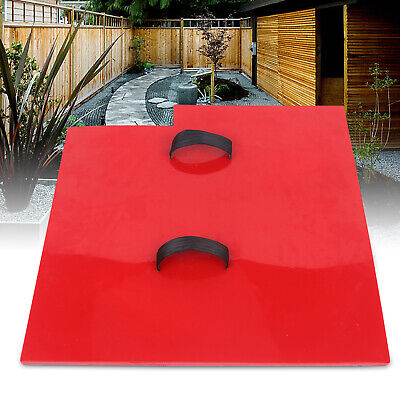 Seamless Texture Stamp Mat Skin Concrete Cement Stamping Tool Red Durable New Us