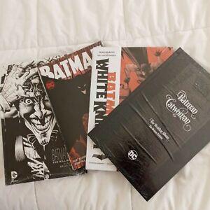 4-Batman-Noir-The-Killing-Joke-HC-B-amp-W-Art-DC-White-Night-Catwoman-Sealed