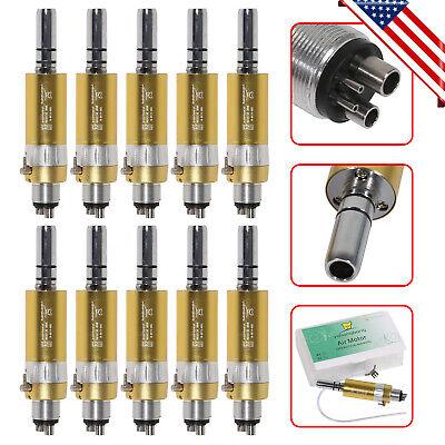 Yabangbang Gold Dental Air Motor Slow Low Speed Handpiece E-type 1-10pc