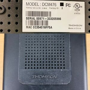 Thomson DCM476 Cable Modem | Techsavy | Used