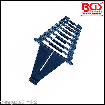 BGS - 8 Pcs - Holder & Carrier For Combination Spanners - Pro Range - 1175