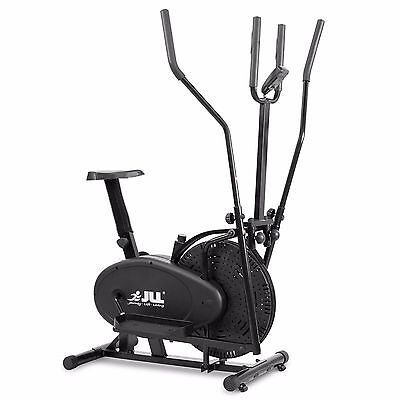 Elliptical Cross Trainer JLL® CT100 Home 2 in 1 Exercise Bike Cardio Gym Workout