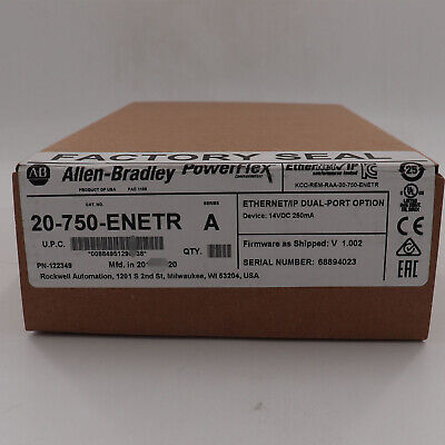 Allen-bradley Rockwell Automation 20-750-enetr Us Stock New Factory Sealed
