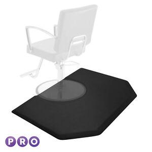 4' x 5' Hexagonal Anti-Fatigue Salon Barber Chair Floor Mat - 1