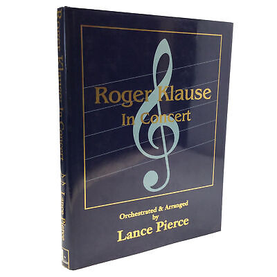 1991 1st Edition Roger Klause in Concert Lance Pierce CARD MAGIC Close Up MAGIC