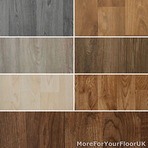 Wood effect vinyl flooring quality luxury lino 2m 3m 4m for Wooden floor lino