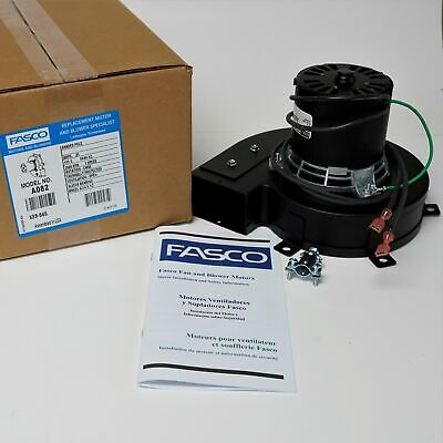 Fasco A082 Centrifugal Blower Motor 75 Cfm 115 Volts 7021-7372