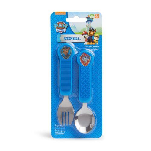 Munchkin PAW Patrol Toddler Fork and Spoon Utensil Set