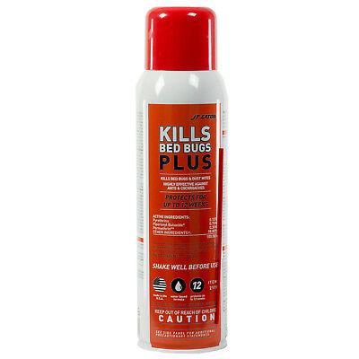 JT Eaton Kills Bedbugs Plus Aerosol Kills Bed Bugs Dust Mites Ants Cockroaches