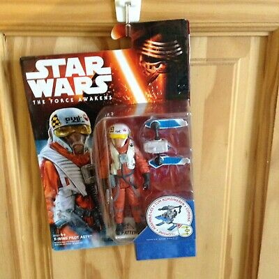 Star Wars The Force Awakens - X-wing Pilot Asty