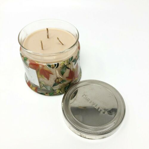 PartyLite Signature 3-Wick Jar Candle, MAPLE WALNUT,  NEW