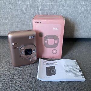 Instax Mini LiPlay Hybrid Instant Camera Pink With Box