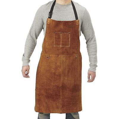 Gravel Gear Leather Welding Apron - 24in. X 36in. Brown