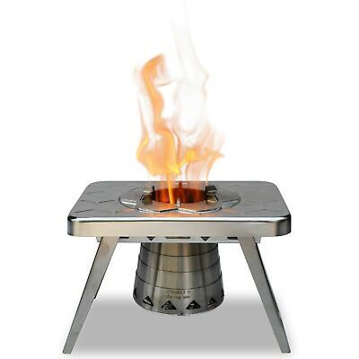 nCamp Wood Burning Camping Stove, Portable and Compact Made for Backpacking -