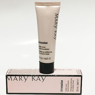 Wear Liquid Foundation (Mary Kay Time Wise Matte - Wear Liquid Foundation, Ivory, Beige, OVP)