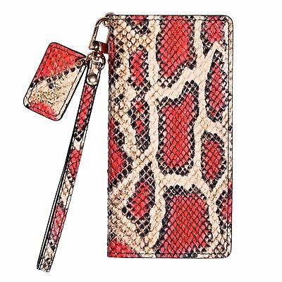 URBANWEST CS Snake Pattern Leather Cell Phone Case for Samsung Galaxy S10 Plus