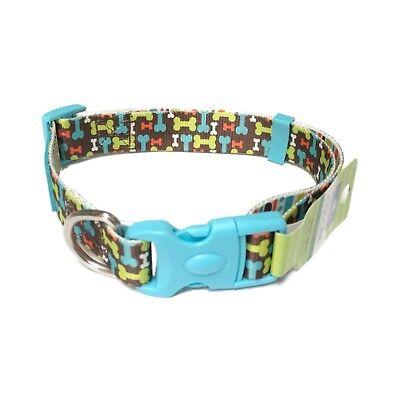 "Top paw Dog Collar Pet  Safety Control Training Large Walking Blue Sky 16 - 26 """