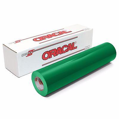 ORACAL 651 Outdoor Permanent Vinyl - GRASS GREEN 12in x 10ft Roll