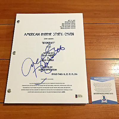 ANGELA BASSETT SIGNED AMERICAN HORROR STORY COVEN