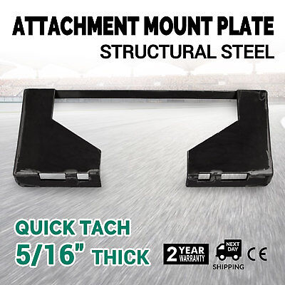 516 Quick Tach Attachment Mount Plate Concrete Breakers Universal Adapter