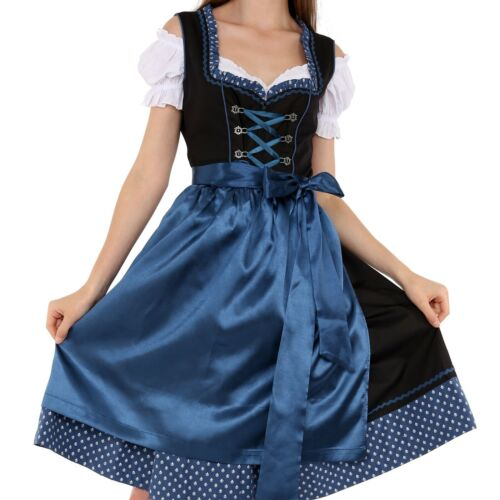 01302 Dirndl Oktoberfest German Austrian Dress Sizes 4 to 22