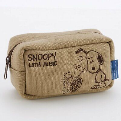 k40418 SNOOPY with Music tuba mouthpiece pouch Made in Japan F/S w/Tracking# NEW for sale  Shipping to Canada