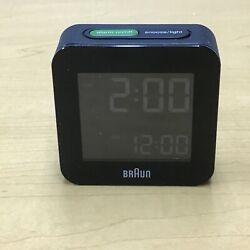 Braun BNC008BK LCD Black Quartz Alarm Clock