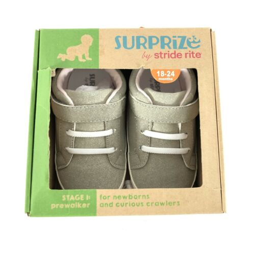 Surprize by Stride Rite Toddler Girls Heather Sneakers Gray