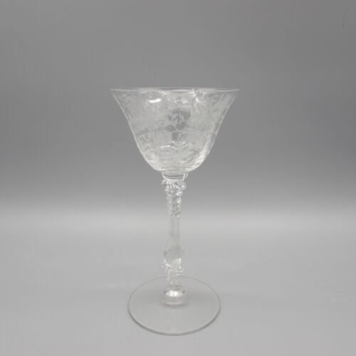 Cambridge Crystal Wildflower 3121 Cocktail Glass