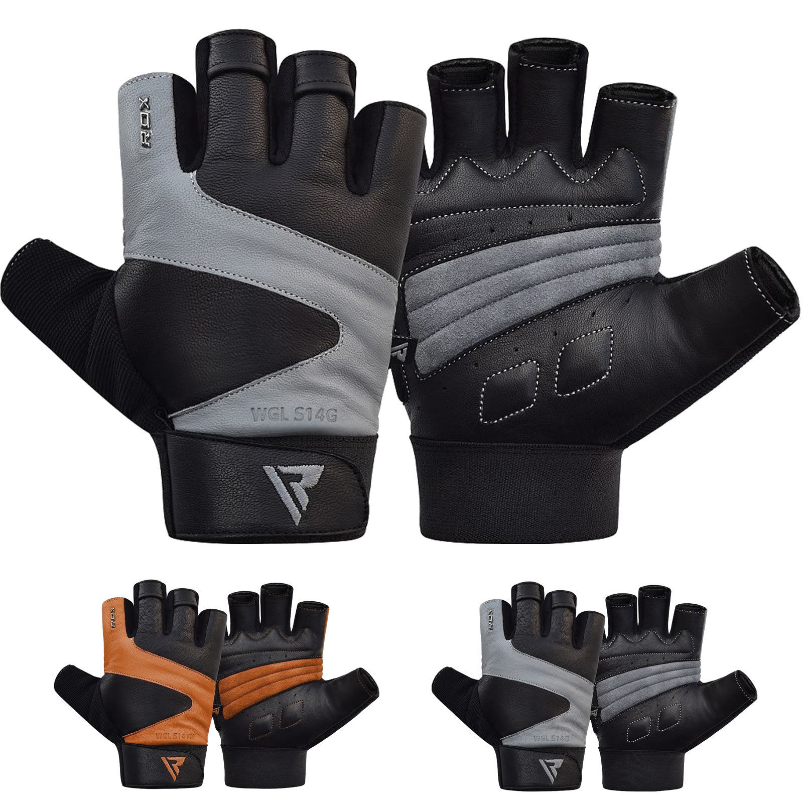 RDX Weight Lifting Gloves Gym Training Fitness Workout Bodyb