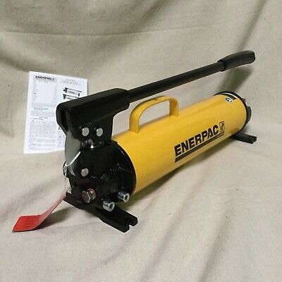 Enerpac P-80 23 12 X 5-2932 X 7-2132 2 Stage Hydraulic Hand Pump