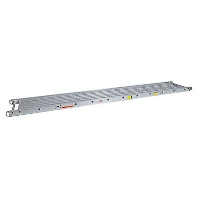 2 Man 500 Lbs. Capacity 20 X 16 Stage Aluminum Plank