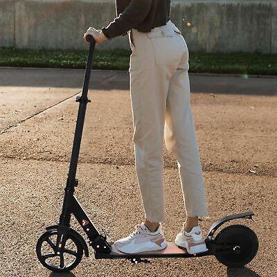 Patinete Eléctrico 14 Años+ E-Scooter Plegable Manillar Ajustable 15km/h