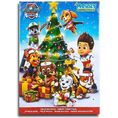 Paw Patrol (C) Chocolate Advent Calendar Whole Milk Chocolate Christmas Calendar