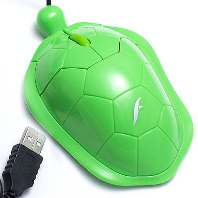 - Cute Turtle USB Optical Mouse for Children & Kids, Desktop Computers Laptops