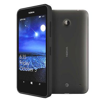 Nokia Lumia 635 Unlocked Gsm Lte Windows 8 1 Quad Core Smartphone   Black