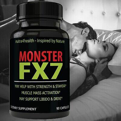 Monster FX7 Male Enhancement Supplement Advanced Enhancing Pills for Men