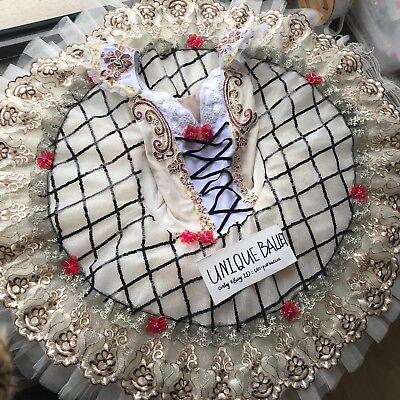 Adult Professional Ballet Tutu Costume Raymonda Champagne Classic Platter Tutu