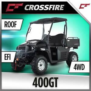 Crossfire 400GT 400cc 4x4 4WD UTV Farm Utility Vehicle, Quad bike Prestons Liverpool Area Preview