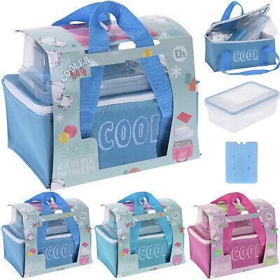 Kühlbox Kühltasche Thermotasche Isotasche Lunchbox 2,6L Kühlakku Isoliertasche