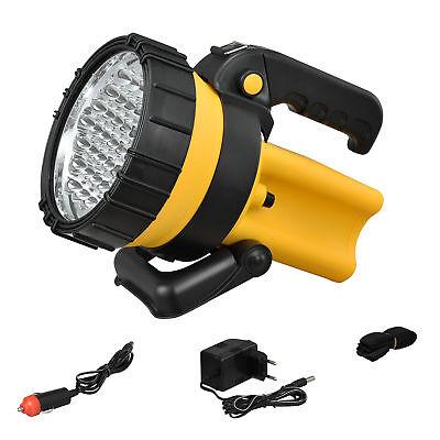 LED AKKU HANDLAMPE TASCHENLAMPE ARBEITSLEUCHTE HAND SUCH SCHEINWERFER Taschenlampe Scheinwerfer Scheinwerfer