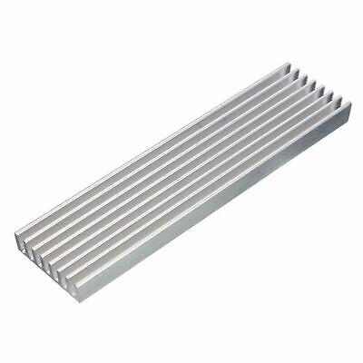 Aluminum Heat Sink Heatsink For High Power Led Amplifier Transistor 100x25x10mm