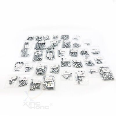 YAMAHA BANSHEE 632 PIECE POLISHED STAINLESS STEEL BOLT KIT ATV YFZ350 YFZ 350