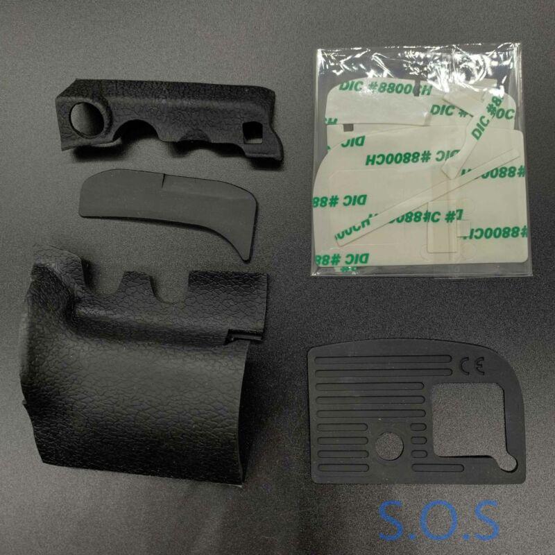 For Nikon D800 D800E A Set of Grip Body Bottom Rubber Cover Unit Hand Part 4PCS
