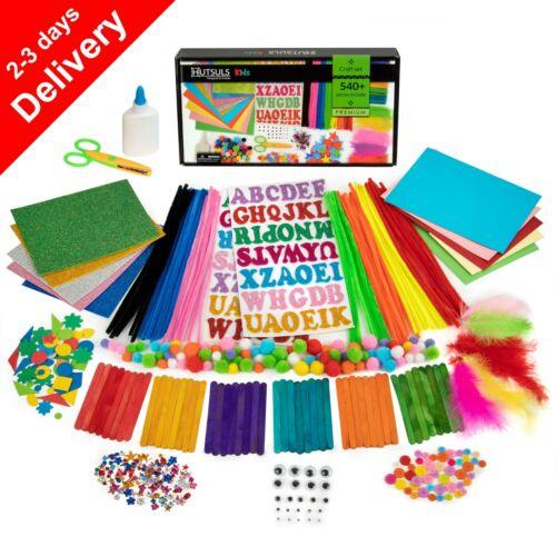 HUTSULS Kids Arts and Crafts Supplies Toddler Materials Preschool Kits Children