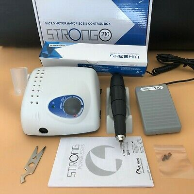 Dental Micromotor Strong 210102l Polishing Machine 35000rpm Brush Motor 2.35mm