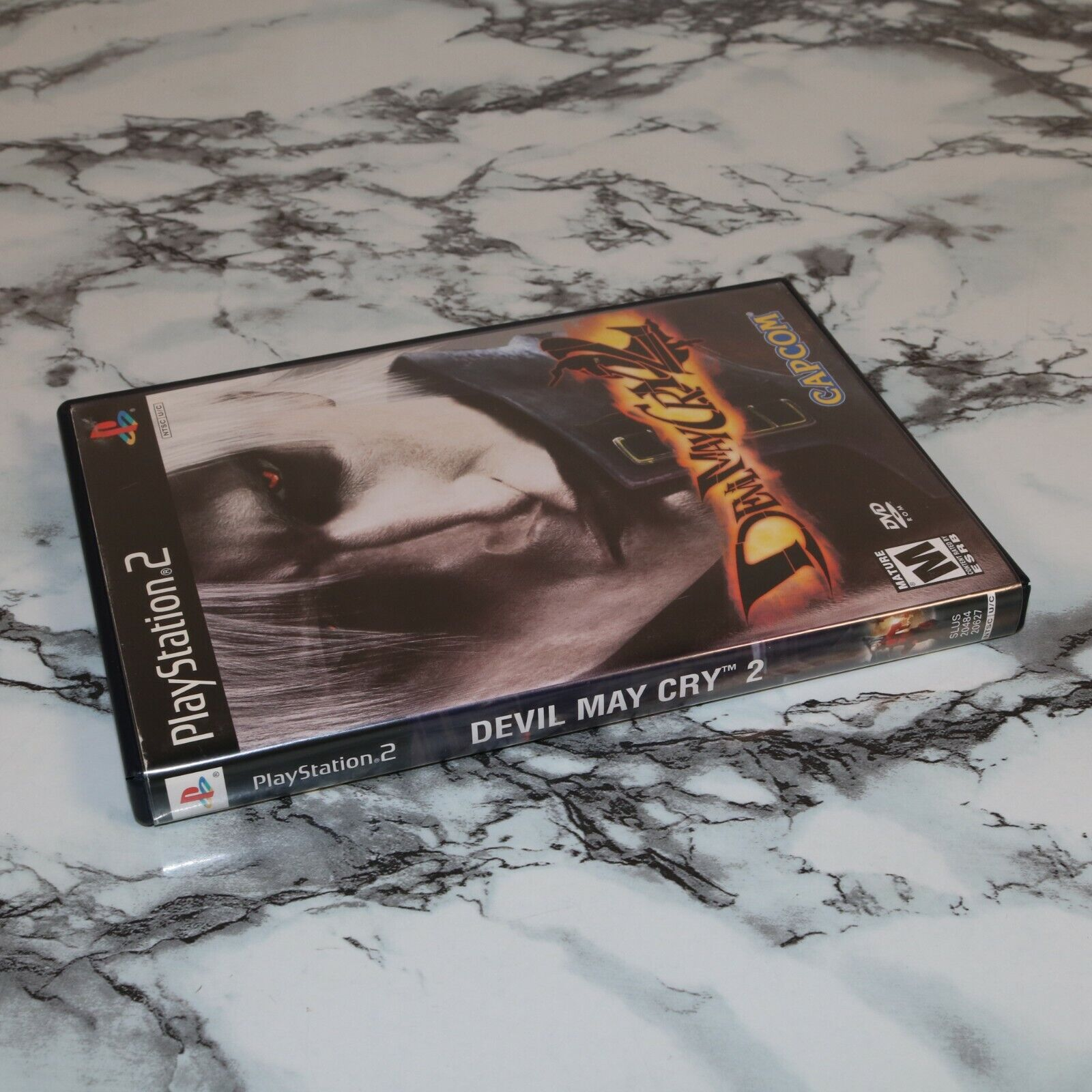 Devil May Cry 2 Two -- Sony PlayStation 2 PS2, 2003 -- Complete W/ Manual - $12.68